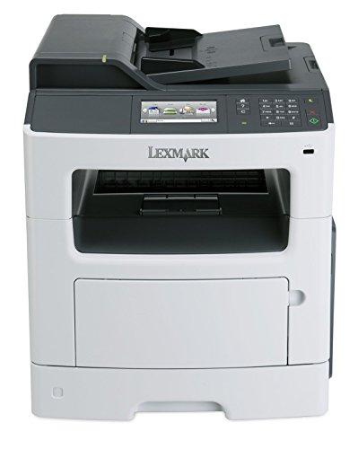 Lexmark MX410DE Multifunktionsgerät (Scanner, Kopierer, Drucker, Fax, 1200x1200 dpi, USB 2.0)