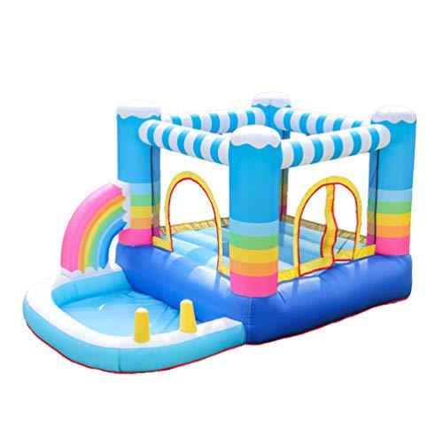XGYUII Kinder Hüpfburg Wasserrutsche Hausrutsche Jumper Klettern Rutschen Sport Spielzeug Indoor Trampolin Männliche Und Weibliche Rutsche Sommer Spielzeug Vergnügungspark