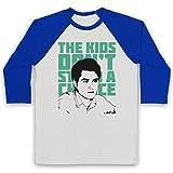 Photo de Inspired Apparel Inspire par Vampire Weekend The Kids Don't Stand A Chance Officieux 3/4 Manches Retro T-Shirt de Base-Ball par Inspired Apparel