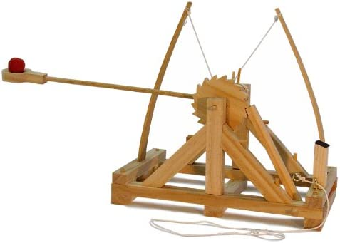 Faites plaisir à à à vos clients Da Vinci catapulte jouet en bois 4fd873