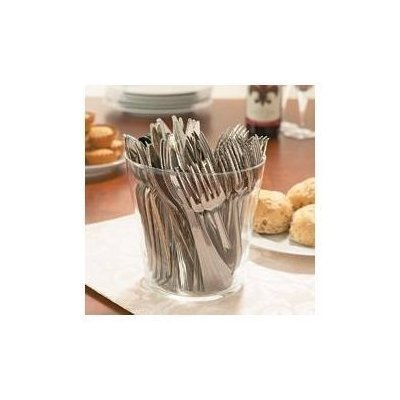 240 PCS Silver Plastic Metallic Cutlery Set Party Forks Spoons Disposable Picnic BBQ 80 forks 80 knifes 80 spoons