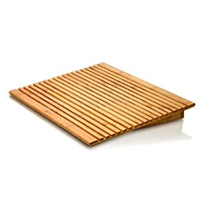 Macally EcoFan Support de ventilation en bambou pour Ordinateur Portable