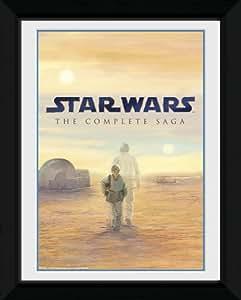 GB eye Cadre photo Motif Star Wars 20,3 x 15,2 cm