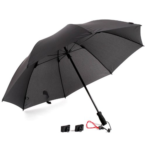 Swing handsfree Schirm schwarz Regenschirm für Fotografen, Wanderer und andere Naturfreunde (wandern, fotografieren) - Für Regenschirm Fotografen