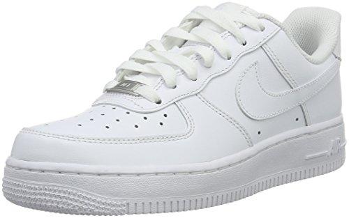 NIKE 315115 112 WMNS AIR FORCE 1 07 Damen Sportschuhe Weiß (white/white)