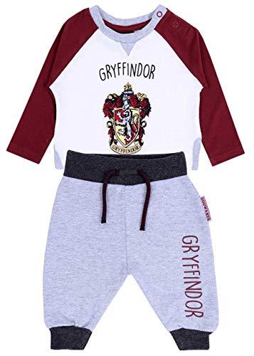 Dunkelrot-weißes Shirt + Hose Harry Potter 18-24 m 92 cm Harry-potter-hose