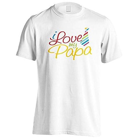 Nouveau amour d'I ma nouveauté de papa Hommes T-Shirt