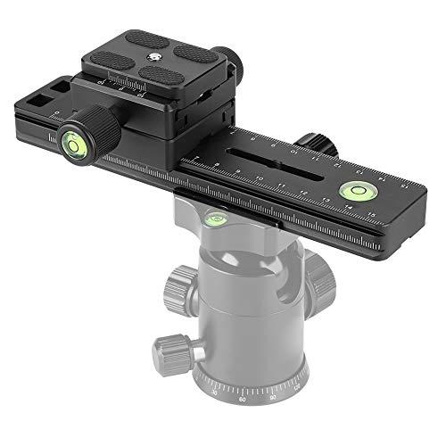 """EBTOOLS Kameraplatte Panoramakamera Schnellwechselplatte und Klemme für ARCA Swiss RRS Kirk, DB-180 1/4"""" Schraube"""
