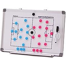 Pizarra táctica magnética de fútbol incl. imanes (45 x 30 cm)
