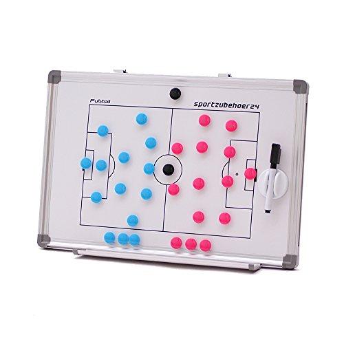 Magnet-Taktiktafel Coachboard für Fußball inkl. Zubehör (45 x 30 cm)