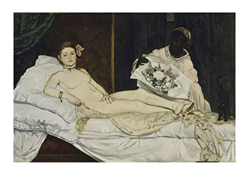 Spiffing Prints Edouard Manet - Olympia - Large - Matte - Unframed
