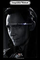 Composition Notebook: Marvel Avengers Endgame Loki Avenge The Fallen Poster  Journal/Notebook Blank Lined Ruled 6x9 100 Pages