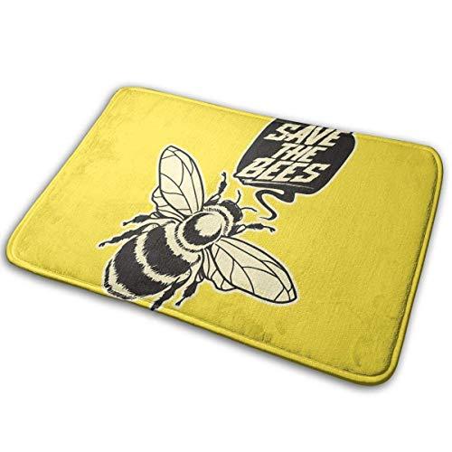Traci Kroll Indoor/Outdoor Fußmatte Super Absorbs Schlammmatte Speichern Sie die Bienen rutschfeste 15,7