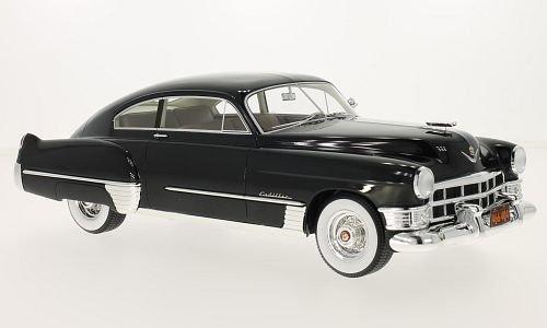 Cadillac Series 62 Club Sedanette, schwarz, 1949, Modellauto, Fertigmodell, BoS-Models 1:18