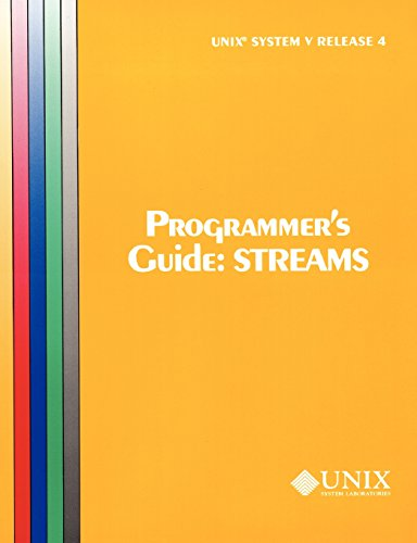 unix-system-v-release-4-programmers-guide-streams-uniprocessor-version-att-unix-system-v-release-4