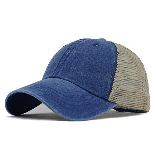 JJJRMP Herren Baseball Cap -Druck -Sommer Mesh Cap Hüte Für Männer Frauen SnapbackDad Kappen Gelegenheits Hip Hop Caps