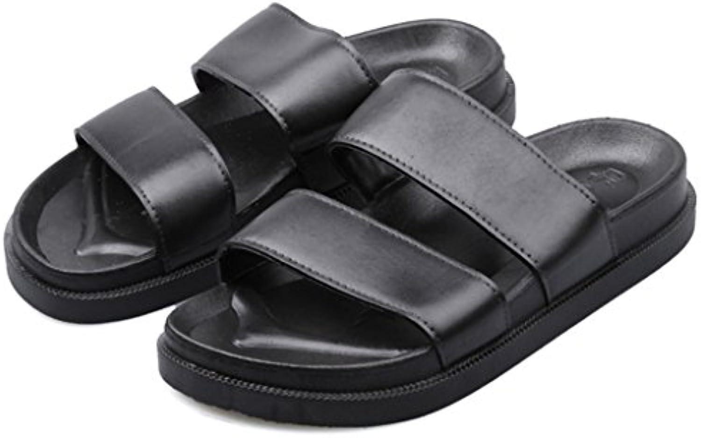 Sandalia Slip-On Para Mujer Con Estilo Zapato Plano De Tacón Plano En Verano Cómodo Calzado Suave Para Playa Al...