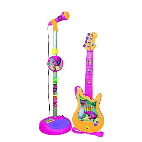 Trolls 3870 Gitarre mit Standmikrofon