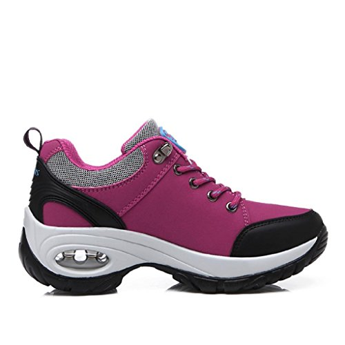 T-Gold Air Donna Scarpe da ginnastica Casual all'Aperto Scarpe Sportive Running Fitness Sneakers Rosa