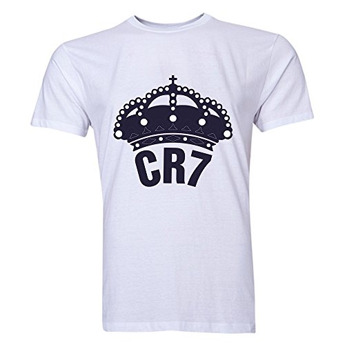 Cristiano Ronaldo CR7 Real Madrid T-Shirt (White)