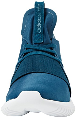 adidas Damen Tubular Defiant Hohe Sneakers Türkis (Mineral/Mineral/Core White)