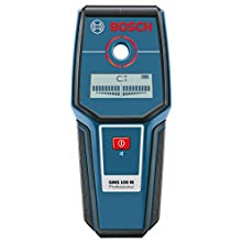 Bosch Professional Metal Detector GMS 100 M (Maximum Detection Depth Magnetic Metal/Non-Magnetic Metal/Live Cable: 100/80/50 mm, In Cardboard Box)