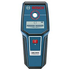 Bosch Professional 0601081100 Detector, 9 V, Negro, Azul