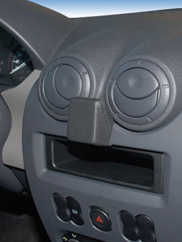 KUDA navigationskonsole (LHD) für Dacia Sandero, Logan (07/08) in Kunstleder schwarz