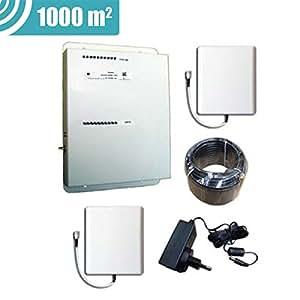Stella Doradus - Booster / répéteur Dual Band GSM 900 + 3G - 1000m²