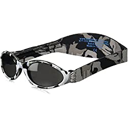 Baby Banz Adventure Baby Banz Sunglasses Urban Grey Camo Frame With Grey Category 3 UV Lens