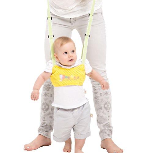 YOUJIA Baby Lauflernhilfe Kleinkind Fuß Assistent Weste Lernen Spaziergang Sicherheit Kabelbaum Walker Flügel Gürtel (Gelb)