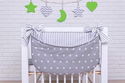 Amilian® Betttasche Spielzeugtasche Design30 Babybetttasche Windelntasche Spielzeughalter für Kinderbett NEU