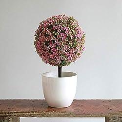 Árbol de Bola Artificial para decoración de Mesa de de centro