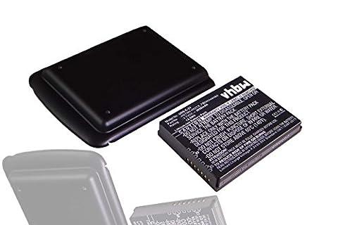 vhbw Extended Li-Ion Akku 3650mAh (3.7V) für PDA, Handheld, Tablet HP IPAQ Enterprise 200, 210, 211, 212, 214, 216 wie 459723-001.
