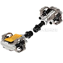 Shimano PD M540SPD MTB Clipless Pedales klickpe Dale, - silver