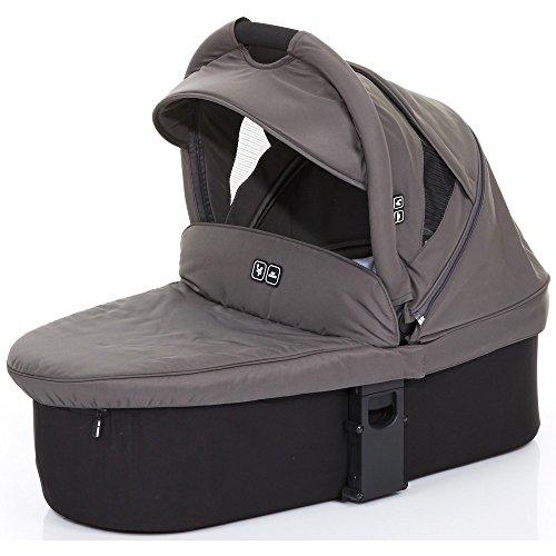 Preisvergleich Produktbild ABC Design Babytragetasche 91240601Babywanne Weich Für Salsa 3/4und Zoom, schwarz/cloud
