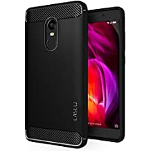 CASE U Rugged Armour Back Cover for Redmi Note 4 (Black)