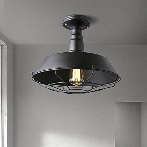 Retro plafón industriales estilo vintage iluminación