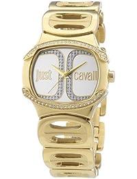 Just Cavalli Damen-Armbanduhr Analog Quarz Edelstahl R7253581501