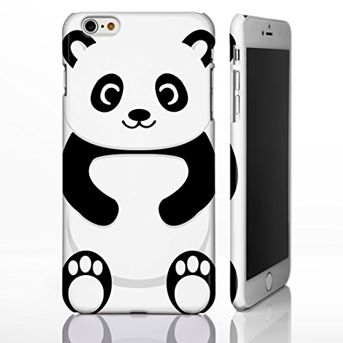 Cute Animal Schutzhülle für iPhone, tolle Cartoon-Designs, plastik, 8. Fox, iPhone 6 Plus 4. Panda