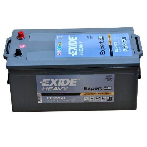 Exide Heavy ee225312V 225Ah batteria per avviamento