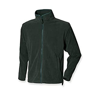 41LHTqlXZFL. SS300  - Henbury micro fleece jacket green L