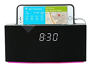 WITTI Design BEDDI - Smart Radio Alarm Clock Speaker with Smart Home Integration - Black (B01N2O34VW) | Amazon Products