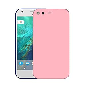 Snoogg Plain Cream Designer Protective Phone Back Case Cover For Google Pixel