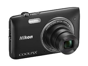 Nikon COOLPIX S3500 Compact Digital Camera - Black (20.1MP, 7x Optical Zoom) 2.7 inch LCD