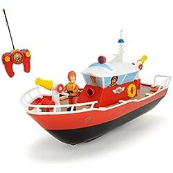 Dickie Toys 203099621 - RC Feuerwehrmann Sam Titan, funkferngesteuertes Boot mit verschiedenen Funktionen, 29 cm