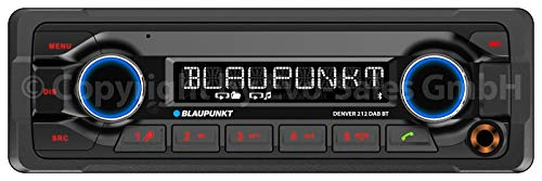 "Blaupunkt DENVER 212 DAB BT ""Heavy Duty"" Autoradio 12V 