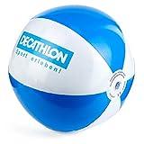 1a-becker Wasserball Strandball Beachball Spiel Ball aufblasbar blau weiß 25cm groß