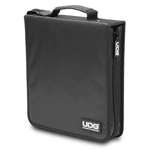 UDG Ultimate U9979BL, Custodia rigida per 128 CD o DVD, Nero