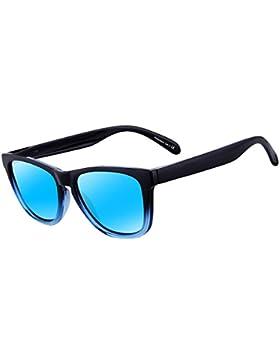 Retro Gafas de Sol Polarizadas para Hombre y Mujer UV400 Protección FD0617